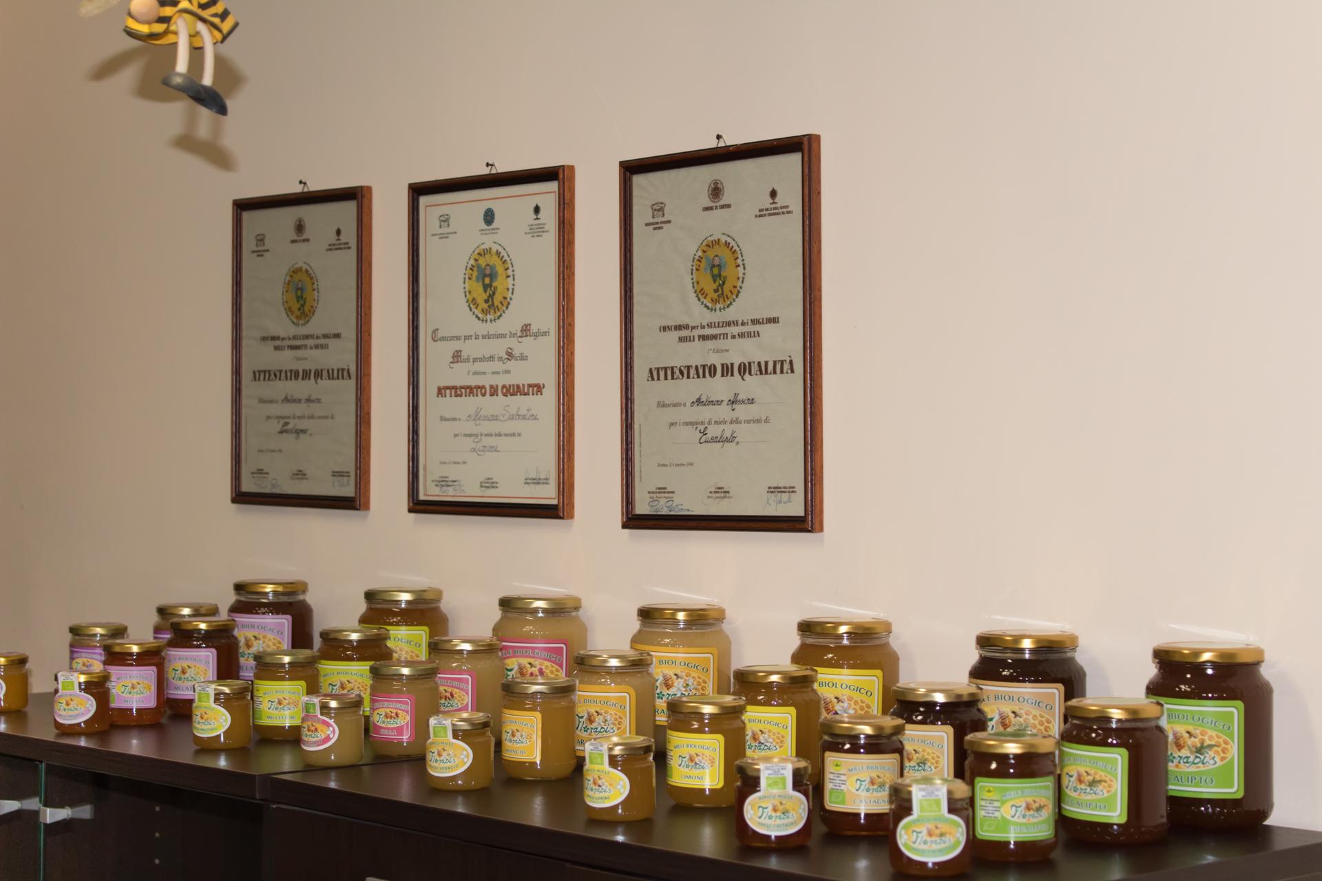 Varietà di miele Florapis