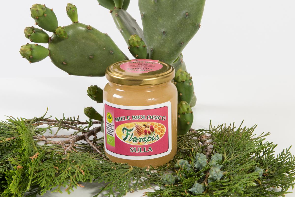 miele biologico siciliano fior di sulla energizzante